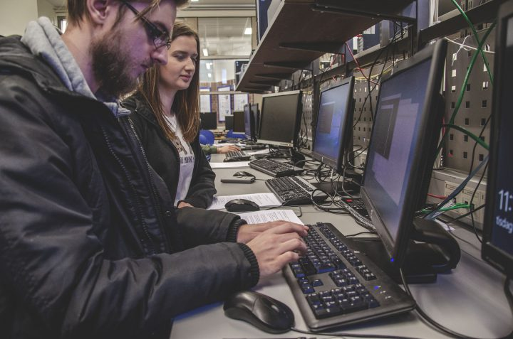 Nätverkslaboration på Högskolan i Borås